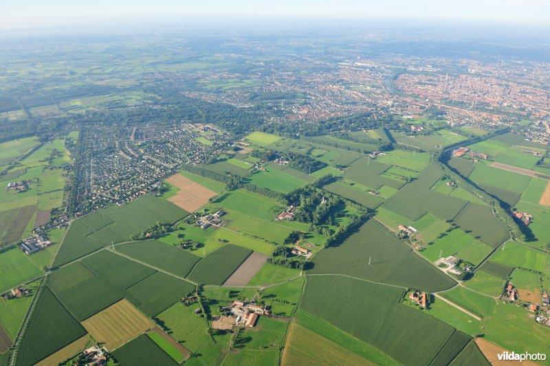Stevin-project: omgeving Koolkerke-Damme-Vijve Kapelle