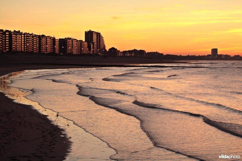 Nieuwpoort strand en zee